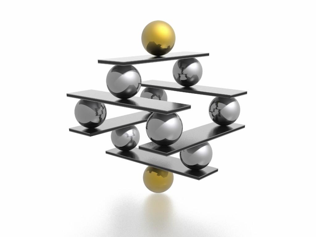balance (high resolution 3D image)